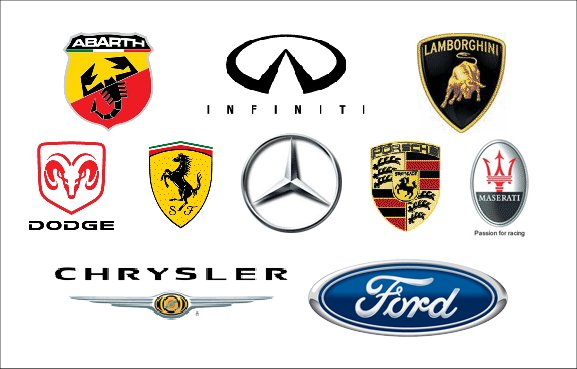 Sports Car Emblems Insured By Laura