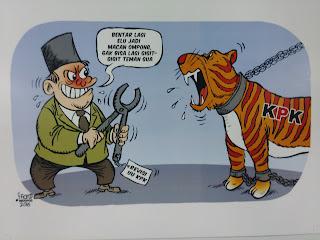 Ilustrasi, KPK Dipenjara
