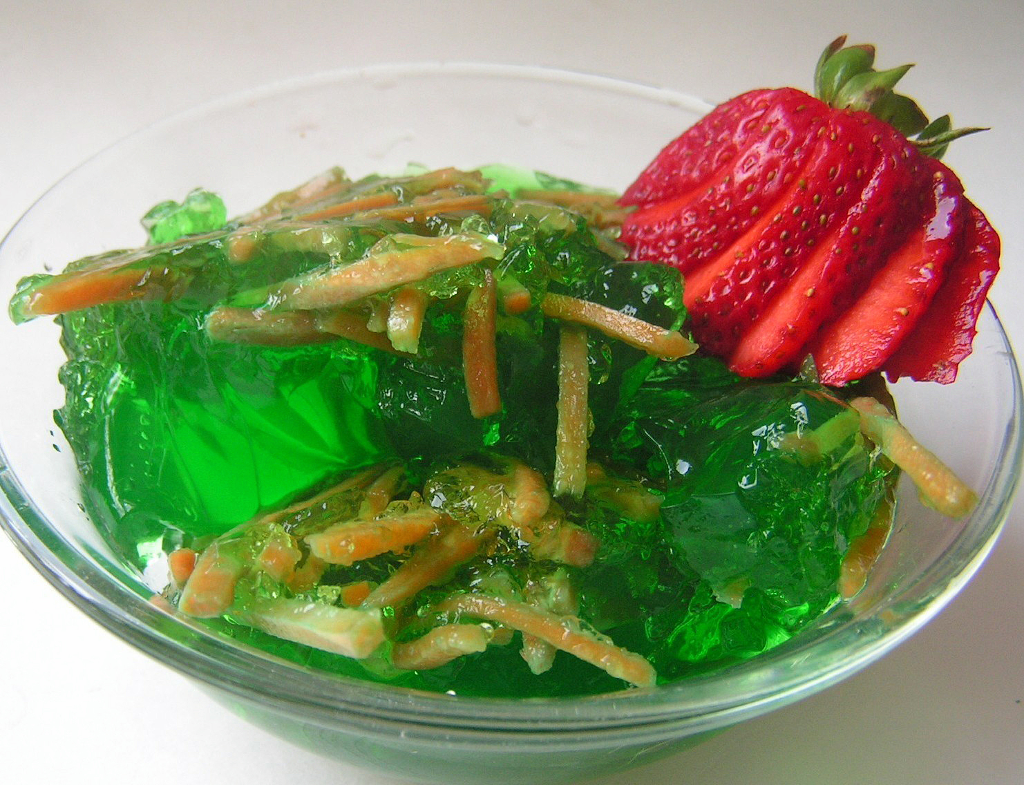 Family Recipe: Green Jell-O with Carrots | Utah Deal Diva