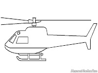 Mewarnai Gambar Helikopter Mewarnai Gambar