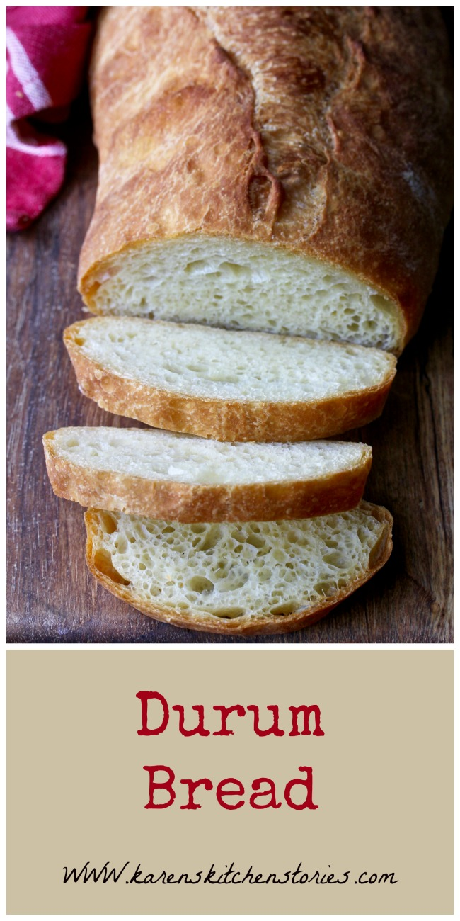 Italian Style Durum Wheat Bread Karen S Kitchen Stories