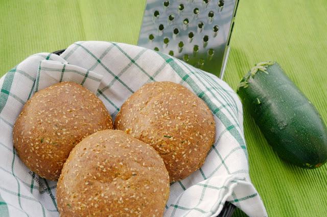 glutenfria zucchinibullar
