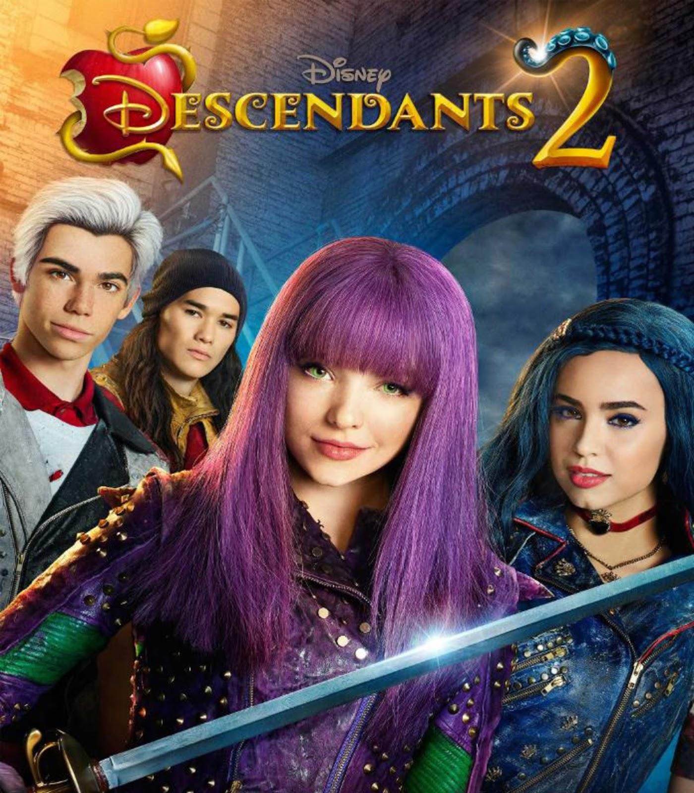 Capa Descendentes 2 Torrent 720p 1080p 4k Dublado Baixar