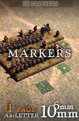 Markers (scale 6mm/10mm)