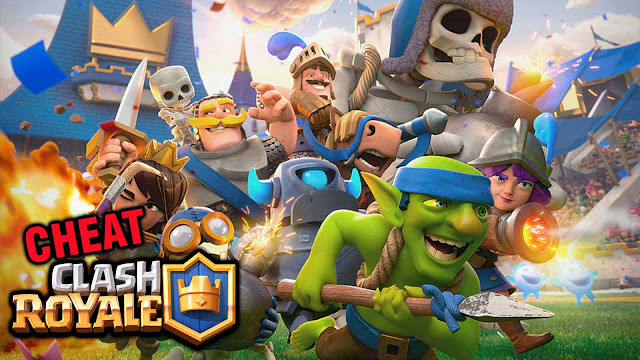 Cheat Clash Royale Unlimited Gems, Gold Terbaru Tanpa Root