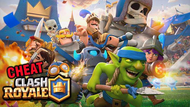 Sedang galau mencari cheat clash royale terbaru Cheat Clash Royale Unlimited Gems, Gold Terbaru Tanpa Root
