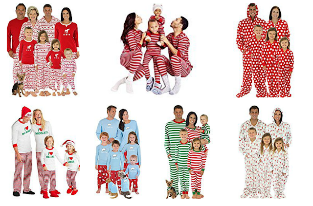 inexpensive christmas pajamas, budget friendly christmas pajamas, best place to buy christmas pajamas