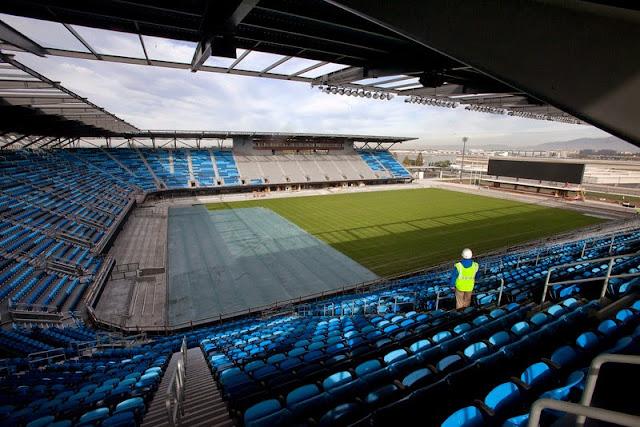 MLS stadium.