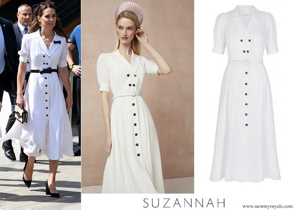 Kate Middleton wore Suzannah flippy wiggle dress