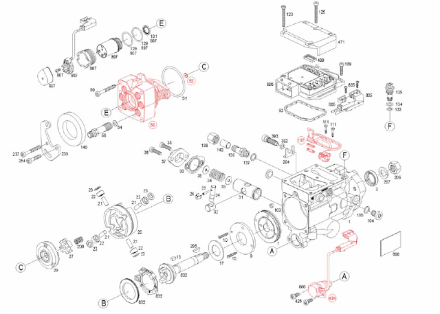INJECTION-AUTOMOTIVE: 0470006005 BOSCH-ROTARY INJECTION PUMP