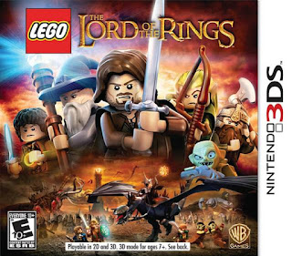 Lego Lord Of The Rings 3ds Cia Rom Mauiaabbcc