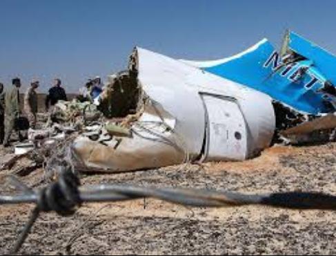 Terroristas com bomba no avião