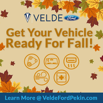 Fall Car Care at Velde Ford Pekin