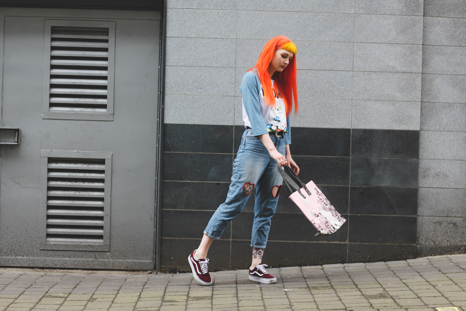 Alternative Fashion Blogger Foxxtailz Styles Truffle Shuffle Moomin Baseball Top