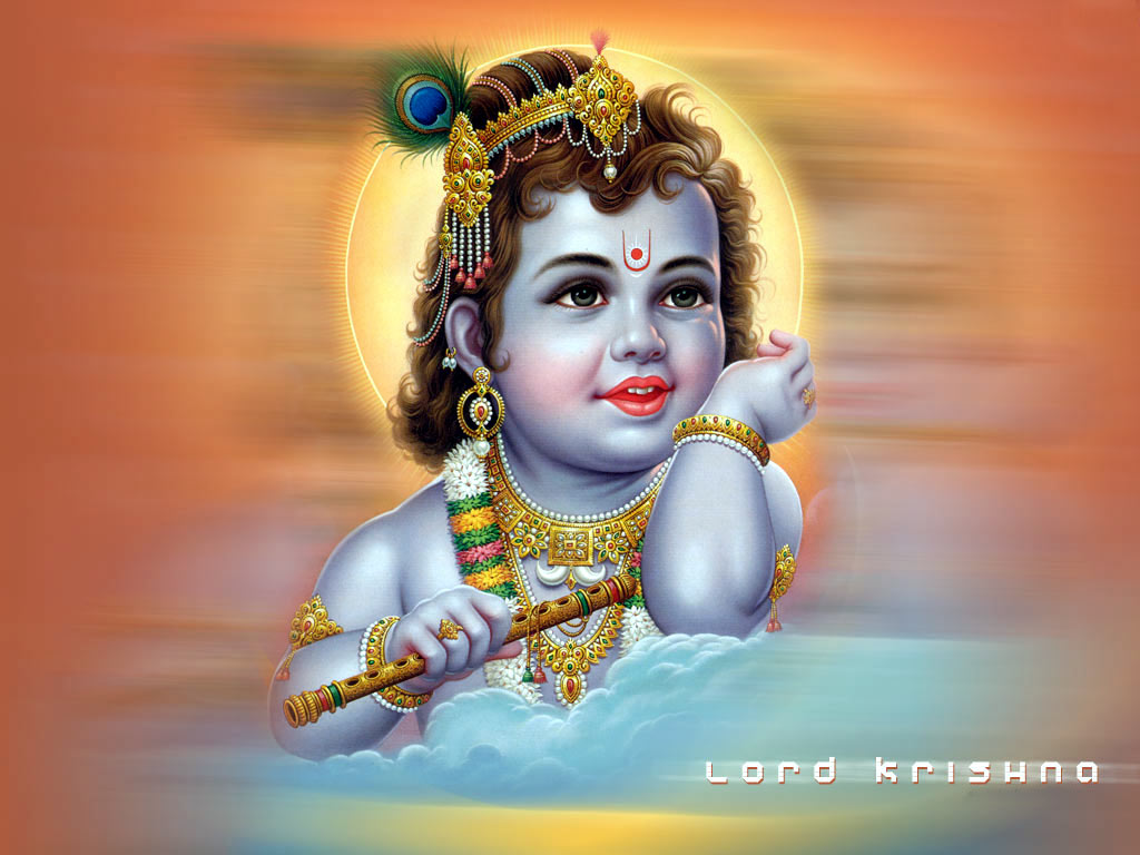 Hindu Gods Wallpaper For Desktop: Hindu Wallpapers: Lord Krishna HD Pictures For Your