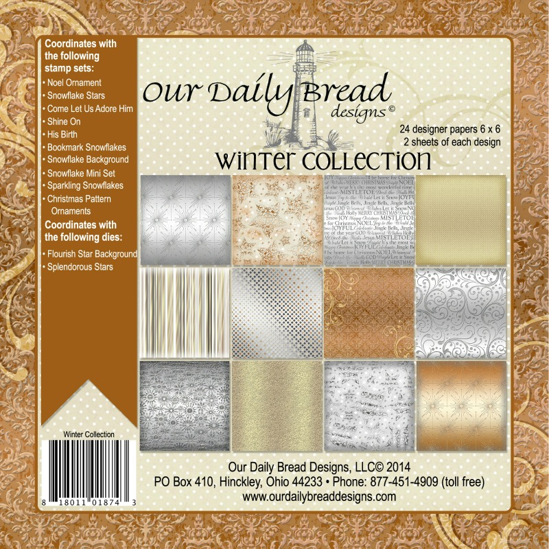 Our Daily Bread Designs Winter Paper Pad Collection 2014