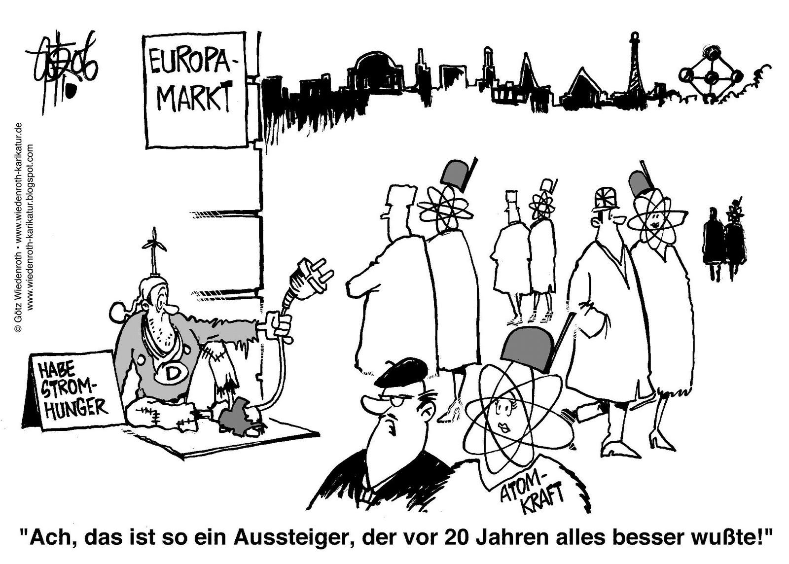 Atomaussteiger Deutschland Einzelganger Nicht Vorreiter