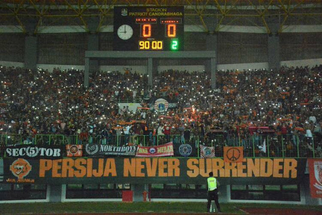 Persija akan jamu Barito Putera di Stadion Patriot Bekasi