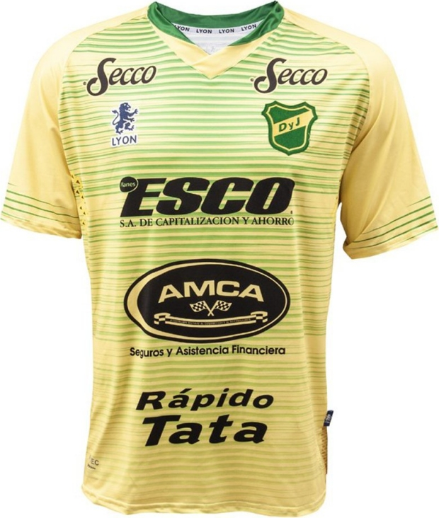 d5daa46db5 Sport Lyon apresenta as novas camisas do Defensa y Justicia - Show ...