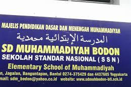 Profil Perpustakaan Sekolah SD Muhammadiyah Bodon, Desa Jagalan, Bantul Yogyakarta