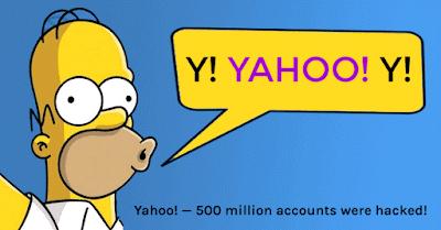 Homero Simpsons ilustration 500 millones de usuarios hackeados en Yahoo!