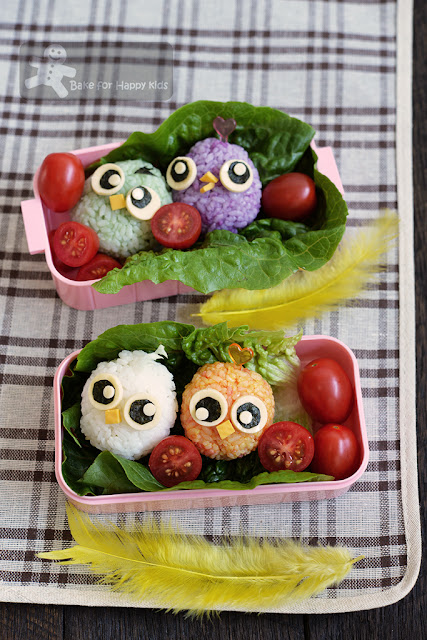 baby angry bird rice ball