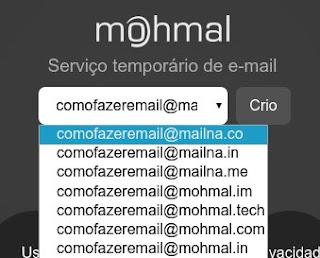 Como criar um e-mail descartável que se apaga