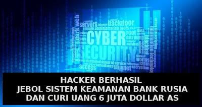 Aksi kejahatan siber memang bukanlah sesuatu yang harus dianggap remeh Peretas Bank Makin Pintar Membuat Software Penghapus Jejak Transaksi