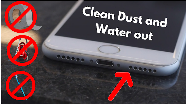 How to Clean Dust and Water out of your phone speaker's [No Dismantling] + BONUS
