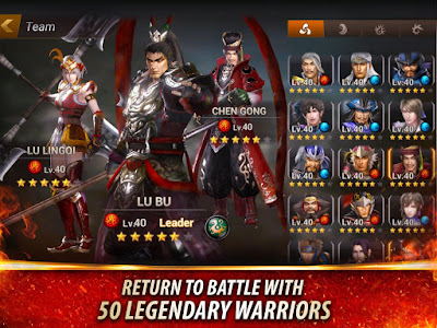 Dynasty Warriors: Unleashed v1.0.6.7 Mod Apk MEGA MOD