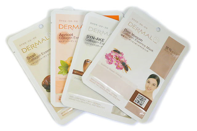 Dermal Essence Face Masks
