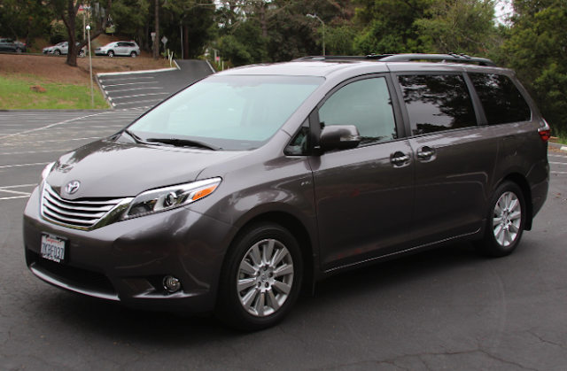 2018 Toyota Sienna AWD Review
