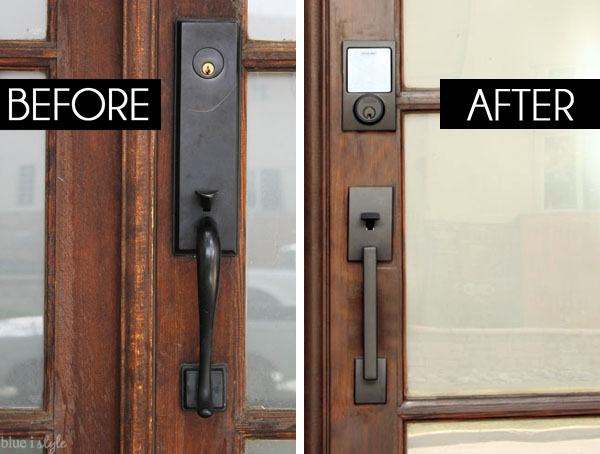 Front door handle update