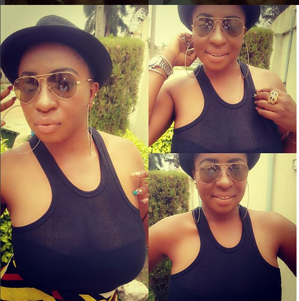 Wow! Actress Anita Joseph Gives A Sexy Pose With Zubby Michael