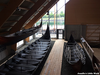 Viking ships at the Sunnmore Museum