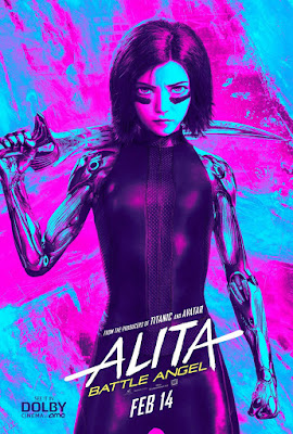 Alita Battle Angel Rosa Salazar Movie Poster 16