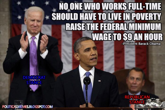 Minimum wage speech