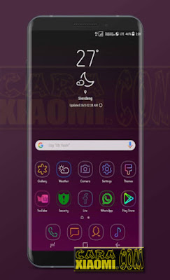 Download Link MIUI Themes Samsung Galaxy S9+ Theme Mtz For Xiaomi Redmi V8 / V9 Update
