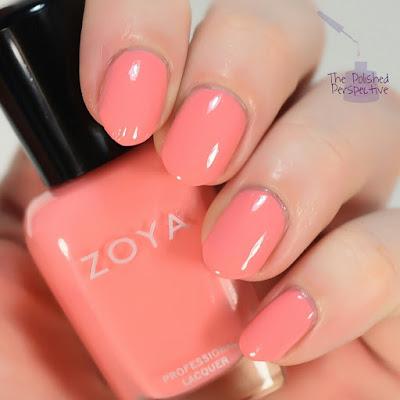 Zoya Tulip swatch
