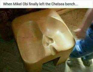 Lol. See how some wicked people mocked Mikel over Chelsea exit
