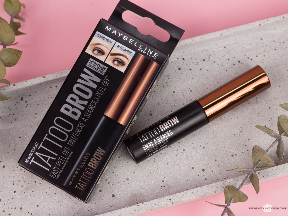 Does it work? </br> Maybelline Tattoo Brow