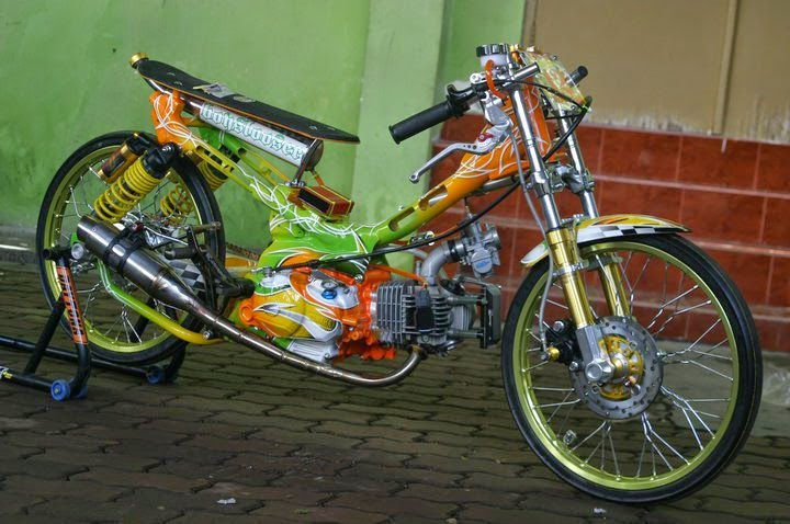 Image result for Cara Membuat Motor Drag
