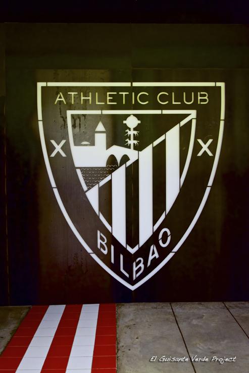 Escudo Athletic San Mames VIP Area - Bilbao por El Guisante Verde Project