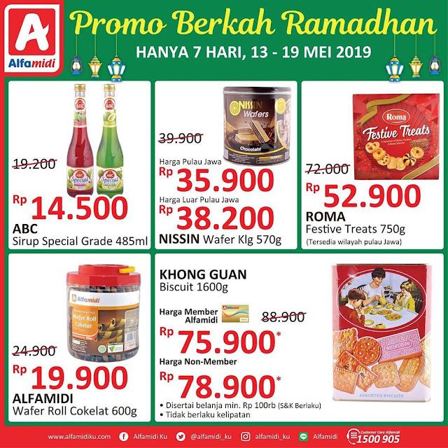 #Alfamidi - #Promo Berkah Ramdhan 7 Hari Periode 13 - 19 Mei 2019