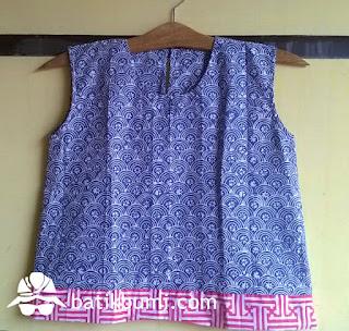 Blus batik solo