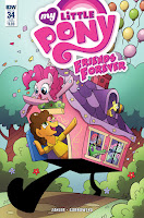 MLP Friends Forever Comic #34 by IDW Sub Cover by Agnes Garbowska
