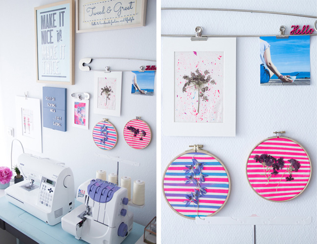 Sewing Space Tours - Selmin's Gorgeous Space! - Tilly and the Buttons