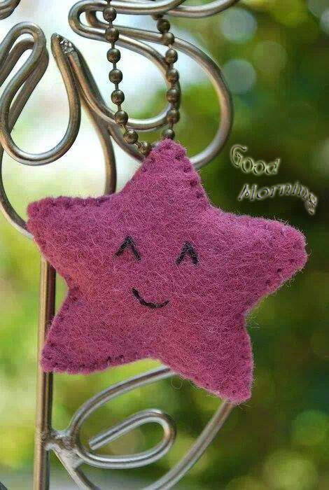 good morning with smiling face