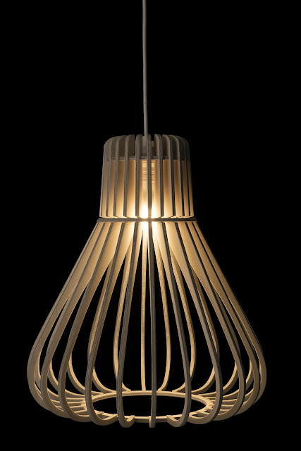 Wood & Bamboo Pendant Lights 11