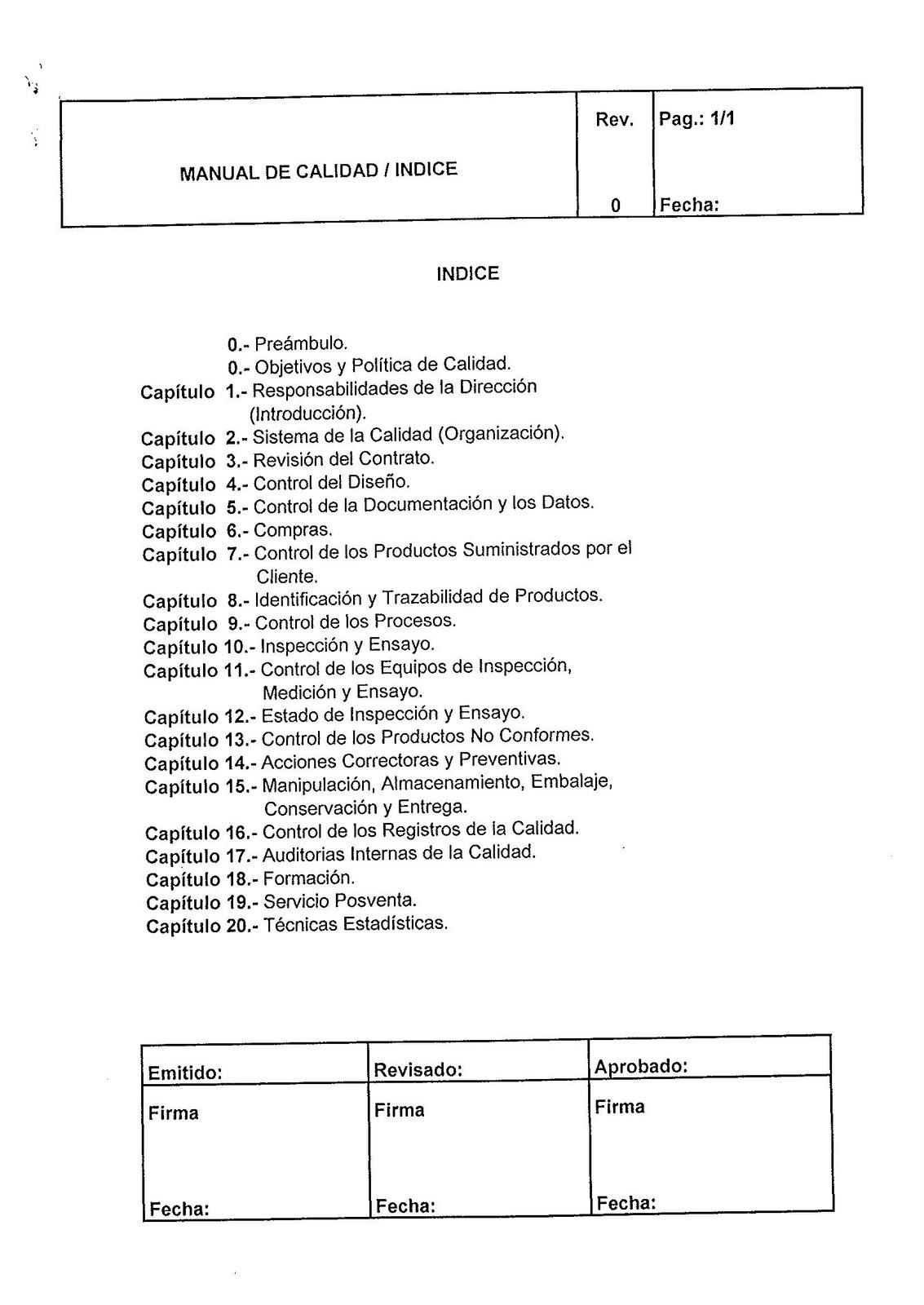 Wrg-5047] ejemplo de manual de calidad | 2019 ebook library.